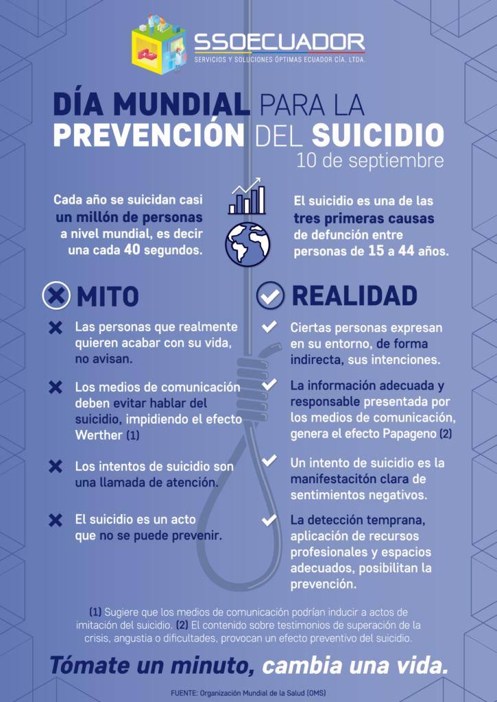 Día de la Prevención del Suicidio
